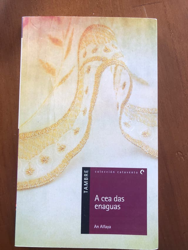 Libro A cea das enaguas