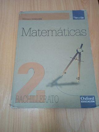 matematicas 2 bachillerato ciencias Tesela