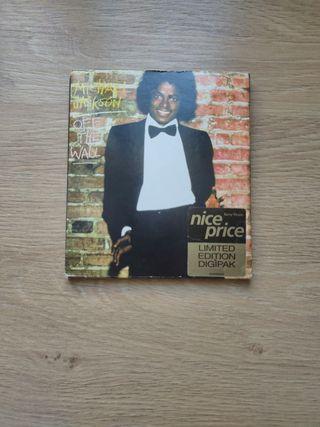 Michael Jackson off the wall límit edition digipak