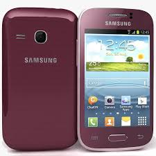 Samsung Galaxy Young Rojo