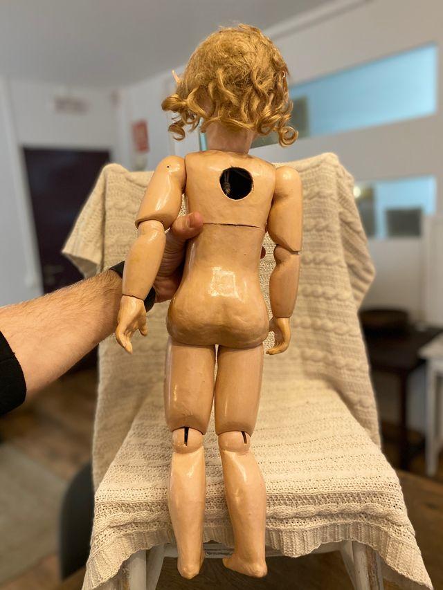 Antigua muñeca porcelana Jumeau talla 9