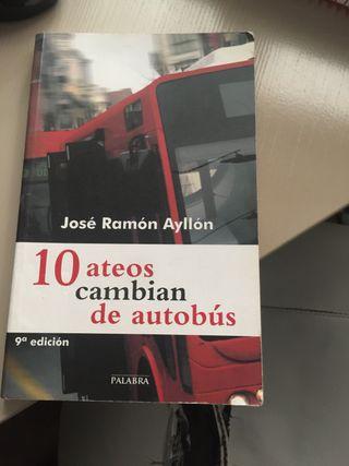 Libro 10 ateos cambian de autobús
