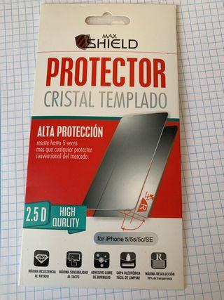 Cristal protector IPhone 5/5s/5c/SE
