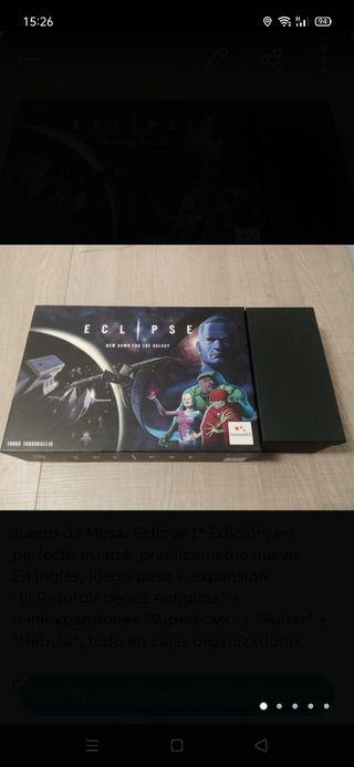 Juego de Mesa: Eclipse 1ª Edición + ampliaciones