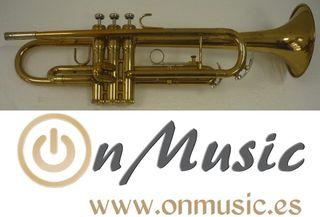 Trompeta Sib King Tempo 600 en buen estado.