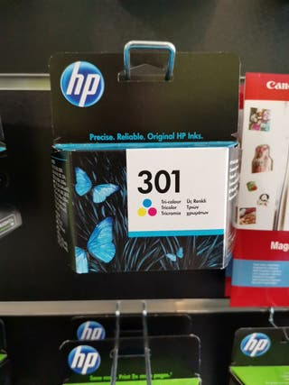 Cartucho HP 301 COLOR
