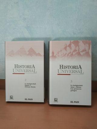 Historia Universal 2 y 3