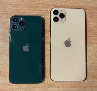 Maquetas iPhone 11 Pro y pro Max