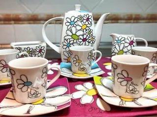 Juego Cafe té taza vajilla