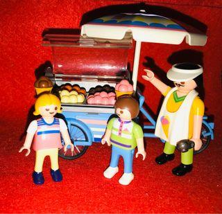 playmobil 7492 puesto de helado