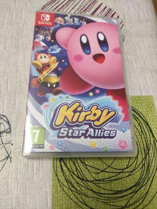 Kirby StarAllies para Nintendo switch