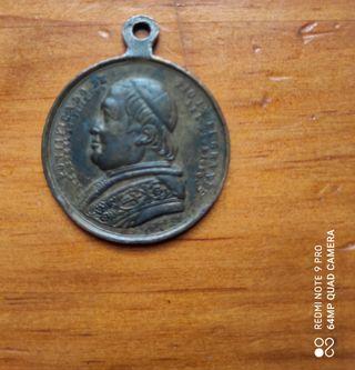 Medalla antigua Pío IX