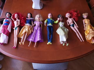 Muñecas Barbies Disney