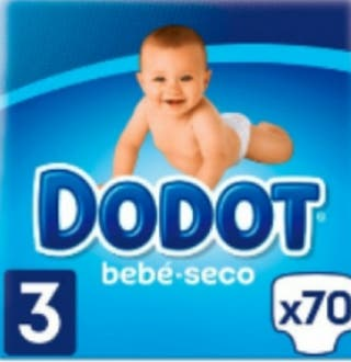 4 paquetes dodot seco de 6 a 10 kgs