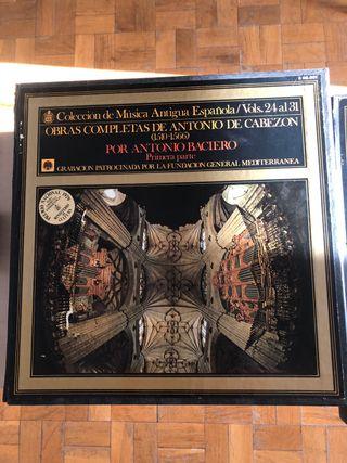 Coleccion vinilo Antonio Cabezon