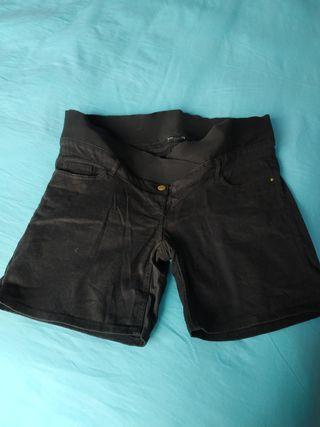 Pantalón negro para embarazadas t.42