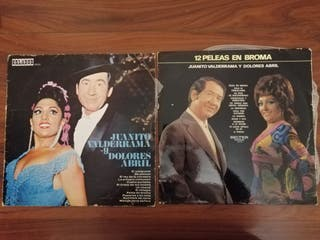 LOTE DOS DISCOS DE VINILO DE JUANITO VALDERRAMA