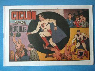 Ciclón contra Hércules
