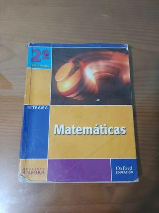 libro de texto 2 secundaria matematicas