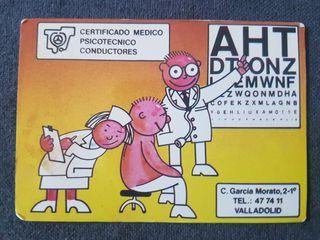 Calendario de bolsillo centro médico psicotécnico