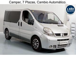 Renault Trafic Camper 2.5 dCi Automático/Sec.