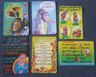 Calendarios de bolsillo chistes humor años 90