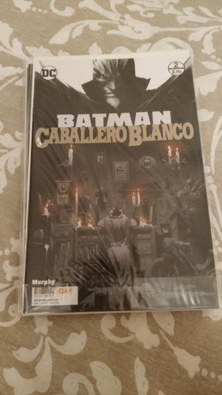 Batman Caballero Blanco cómics