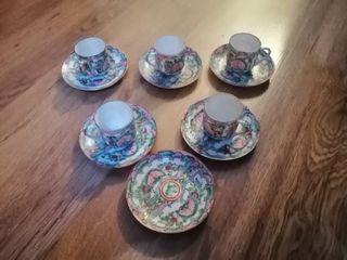 tazas de té, porcelana China macao