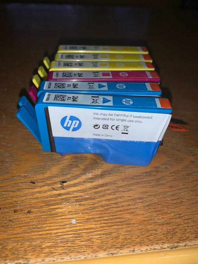 Tinta impresora hp 364 xl