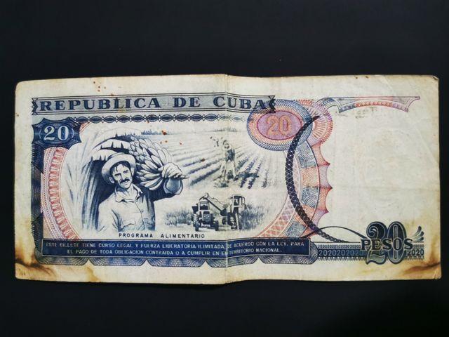 20 Pesos Cubanos