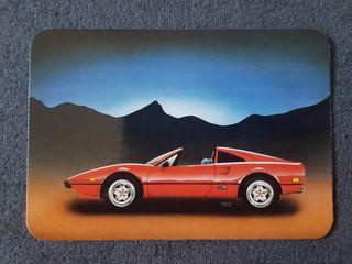 Calendario de bolsillo coche 1993