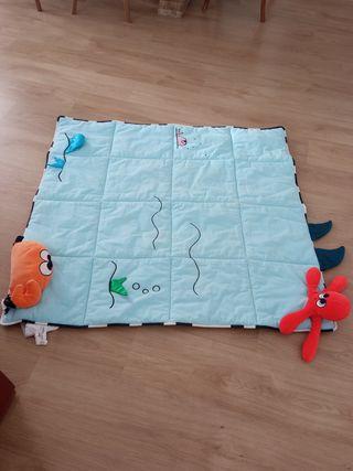 Alfombra/manta juego bebé IKEA