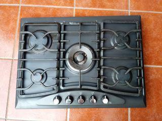 Placa 5 fuegos cocina
