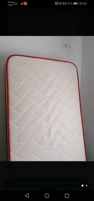 Colchón para cama de 90 viscoelastico, tiene muy p
