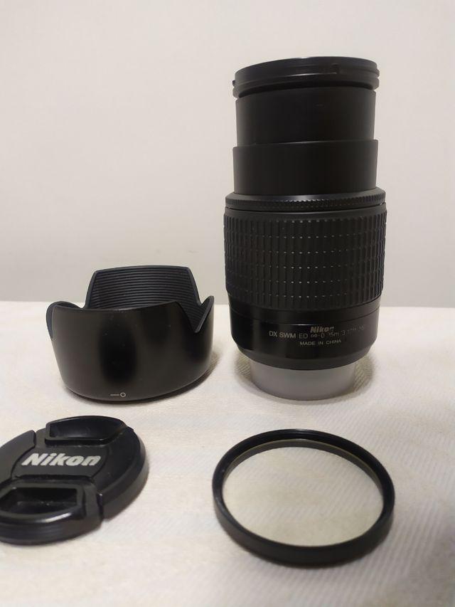 Objetivo Nikon 55- 200