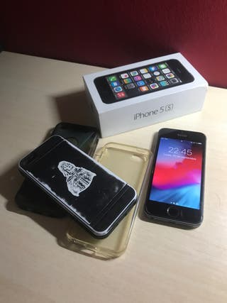 IPHONE 5s 16Gb + Fundas