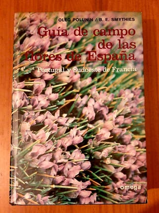 Libro guia flores de campo España