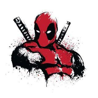 Camiseta Deadpool Talla M