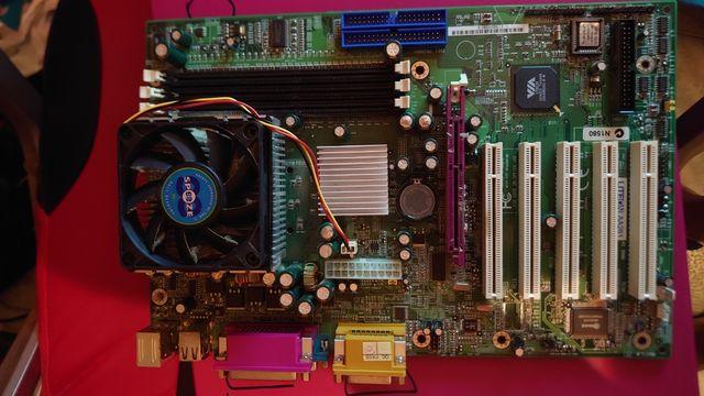Placas base Antiguas+procesador