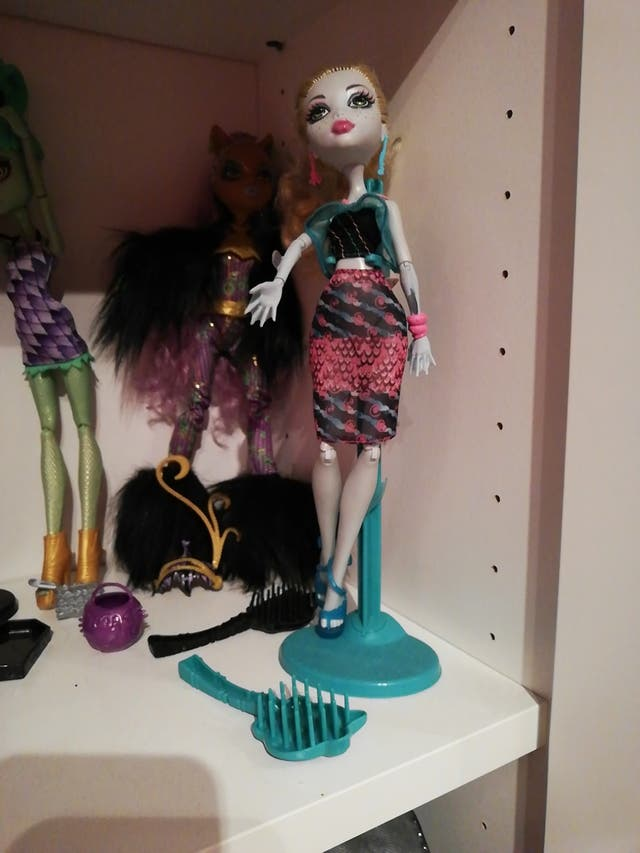 Lote 5 muñecas Monster High