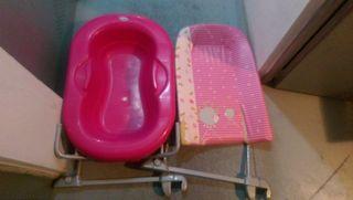 bañera cambiador para bañera