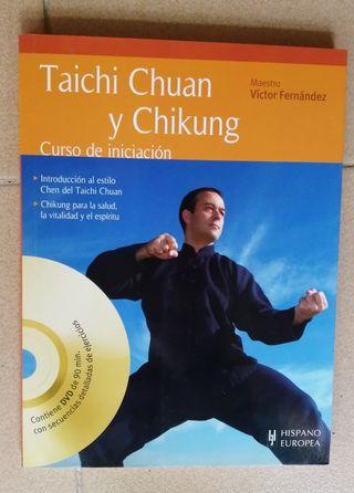 Libro con DVD Taichi Chuan y Chikung. Solo Envíos