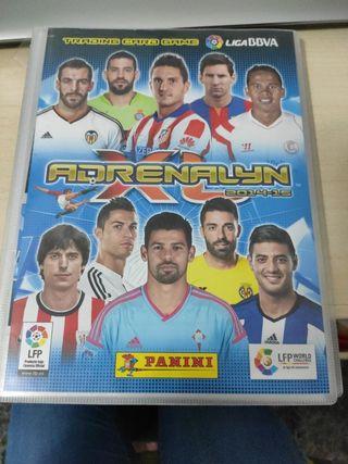 album de cromos Adrenalyn 2014-2015