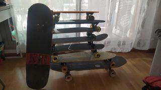 tabla longboard skate flying wheels