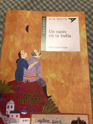 Libro un oasis en la India