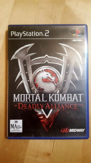 Mortal Kombat completo PS2