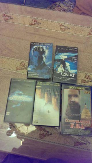 5 peliculas VHS originales