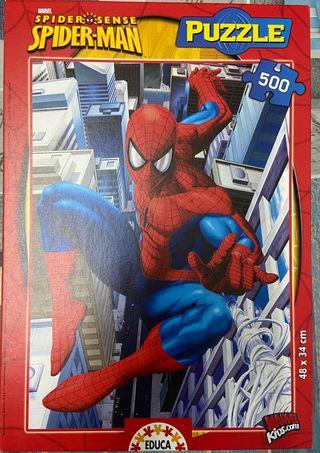 Puzzle Spiderman 500 pz, como nuevo