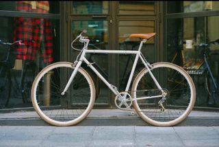 Bicicleta urbana estilo fixie