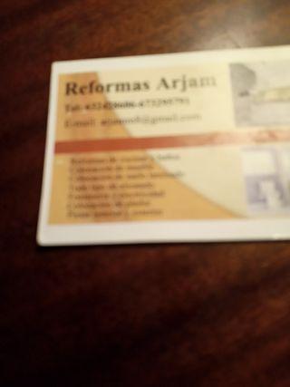 profesional en Reformas con experiencia